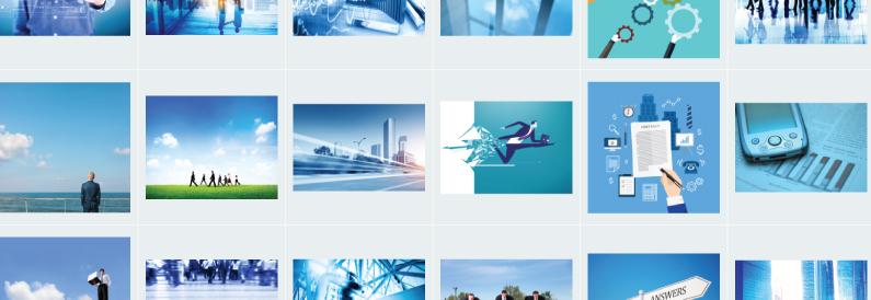 Stock Photo Clichés Blue
