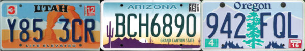Southwest License Plate Design